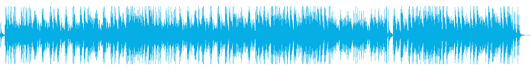 やさしい・のんびり・ギター(ドラムなし)の再生済みの波形
