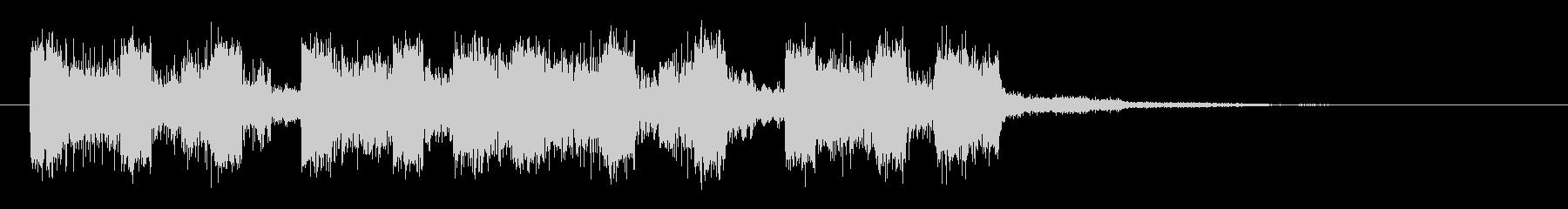 ゴーという環境音/ざわめきの未再生の波形