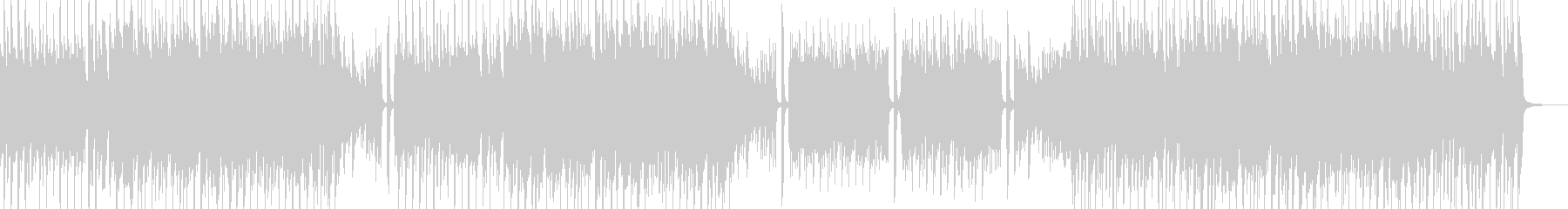 スマートポップ 打楽器無&ベース有の未再生の波形