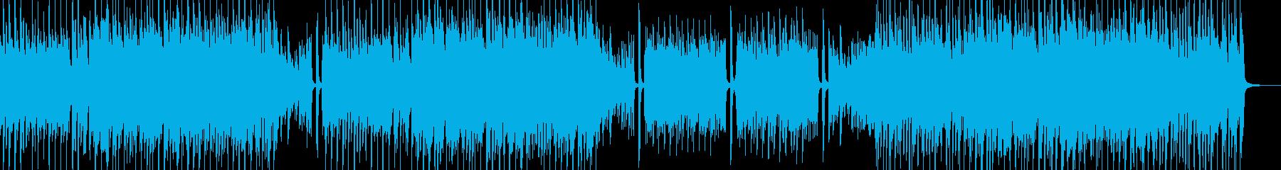 スマートポップ 打楽器無&ベース有の再生済みの波形