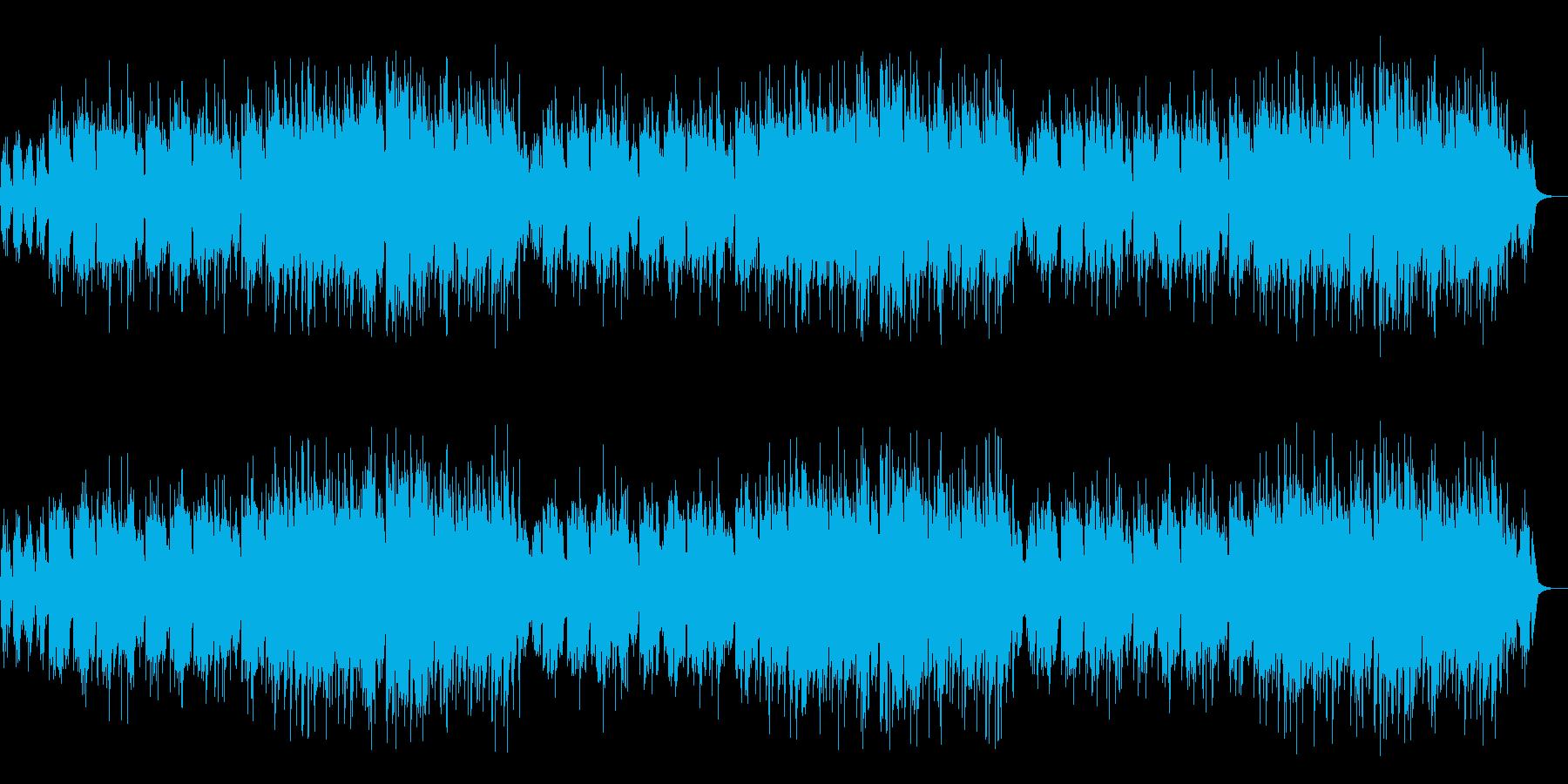 リコーダーとピアノによる温かいバラードの再生済みの波形
