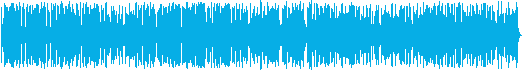 Bright and fun synthesizer pop's reproduced waveform