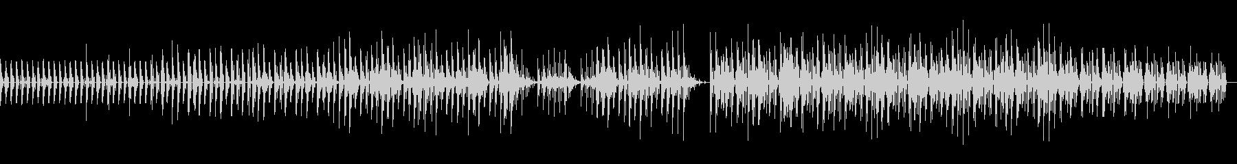 近未来的でクールなダンサブルな曲の未再生の波形