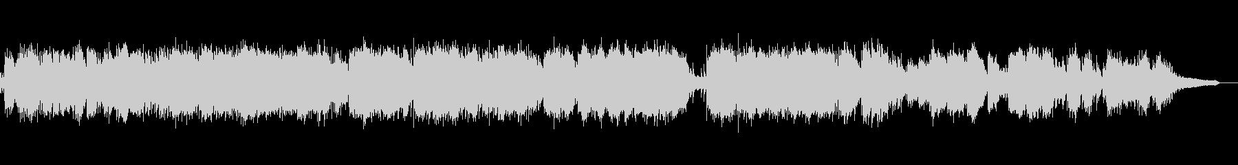 静かなヒーリング系ピアノソロ即興演奏の未再生の波形