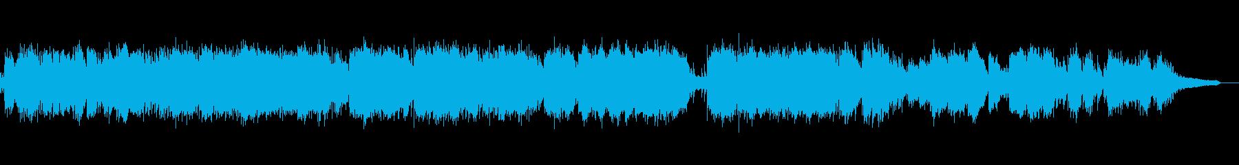 静かなヒーリング系ピアノソロ即興演奏の再生済みの波形