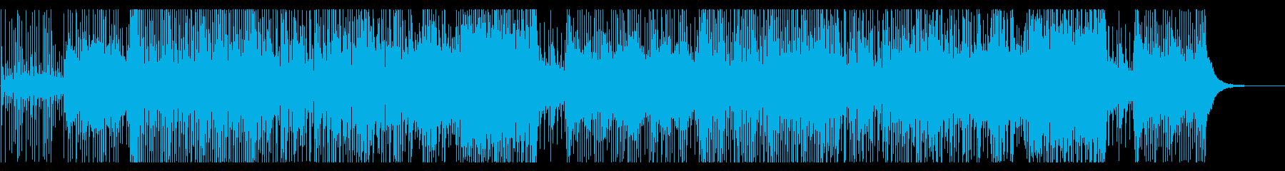 津軽三味線のかっこいい和風ロックの再生済みの波形