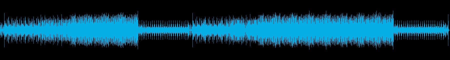カントリーな雰囲気をもつポップなBGMの再生済みの波形