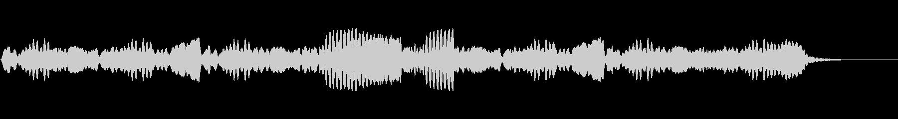 アメージンググレース /フルートソロの未再生の波形