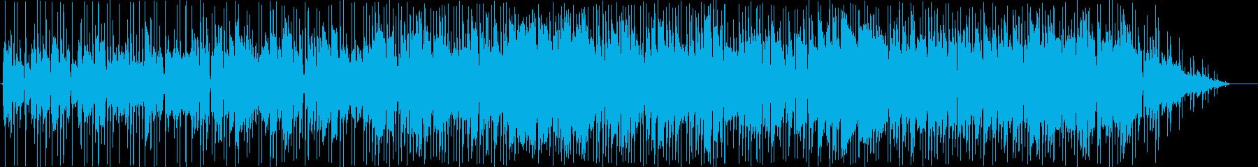 少しジャズの雰囲気がある、ゆったりとし…の再生済みの波形
