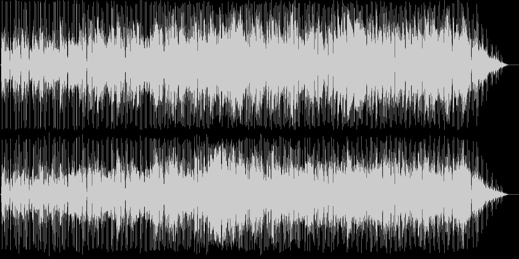 少しジャズの雰囲気がある、ゆったりとし…の未再生の波形