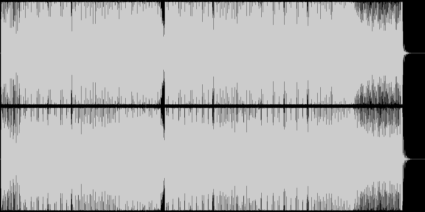 スタイリッシュなシンセベースのエレクトロの未再生の波形