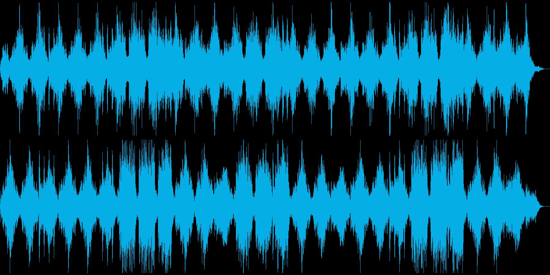 瞑想やヨガ、睡眠誘導のための音楽 05の再生済みの波形