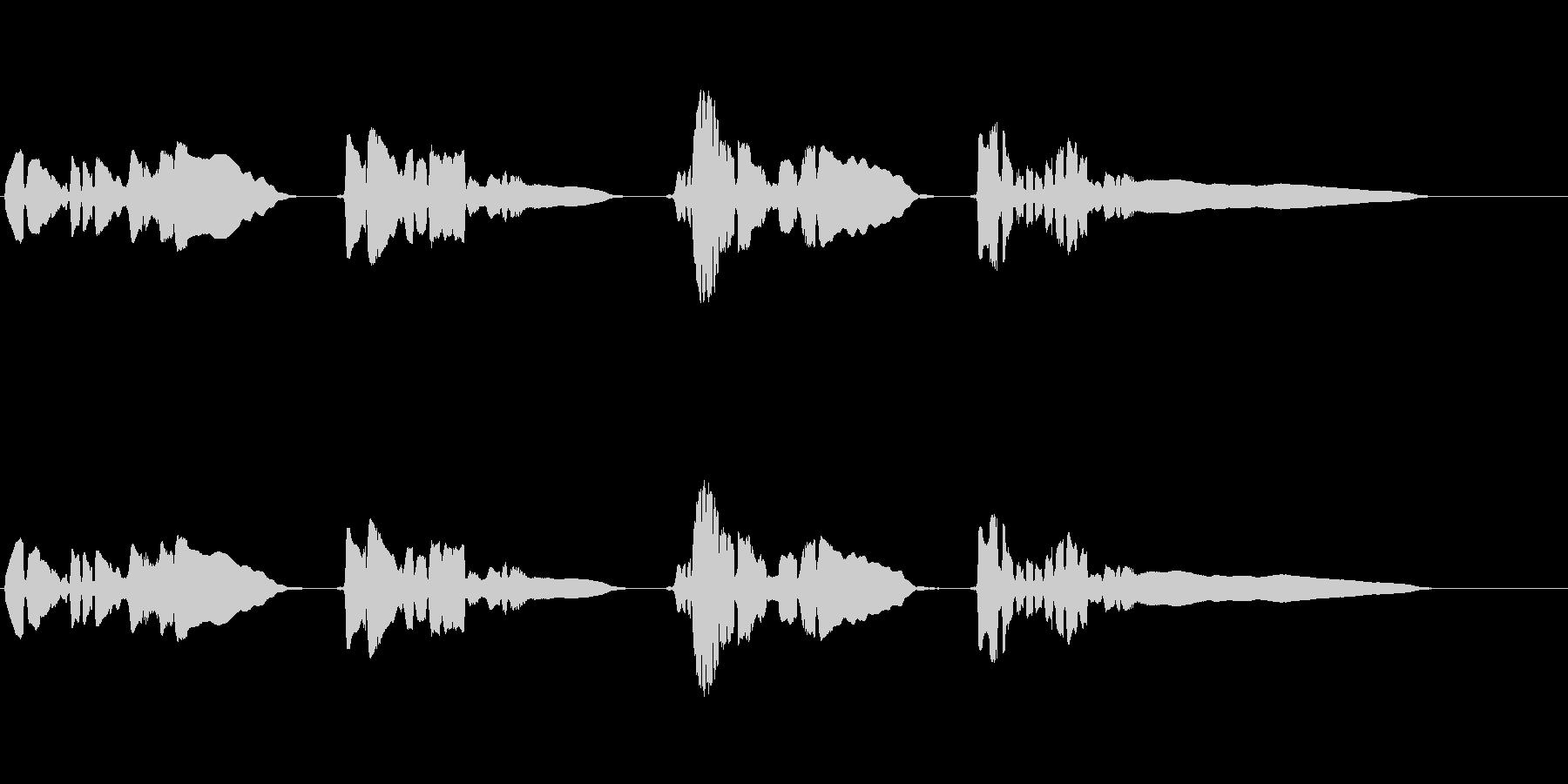 saxの官能メロディーの曲です。の未再生の波形