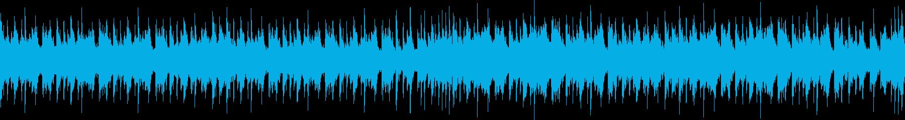和風エキサイティングEDM・ループの再生済みの波形