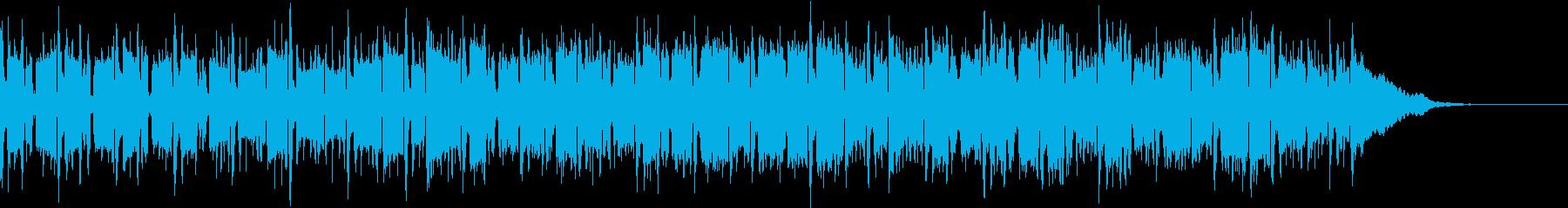 Pf「螺旋」和風現代ジャズの再生済みの波形