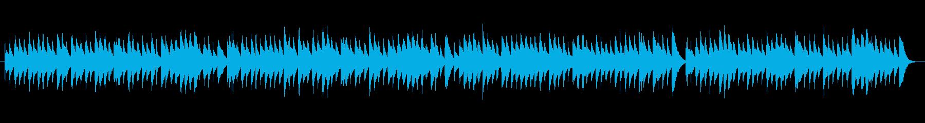 オルゴールのおしゃれでかわいいワルツの再生済みの波形