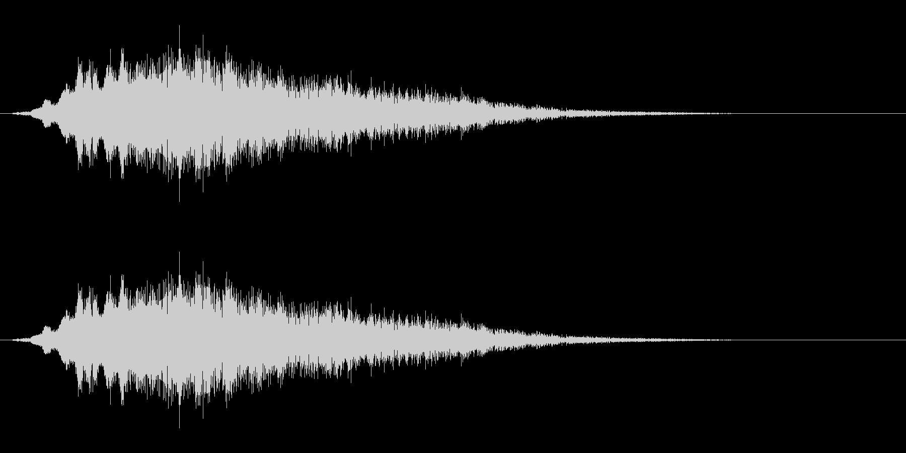光『きらきら』の未再生の波形