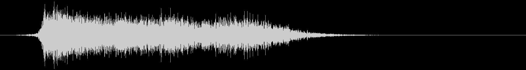 コミカルなダッシュ ジャンプ効果音10cの未再生の波形