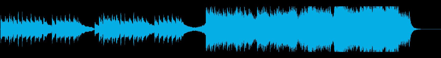 幻想的で壮大な感動フィナーレテーマBGMの再生済みの波形