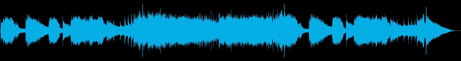 秋のオープニング・優しいアコギポップスの再生済みの波形