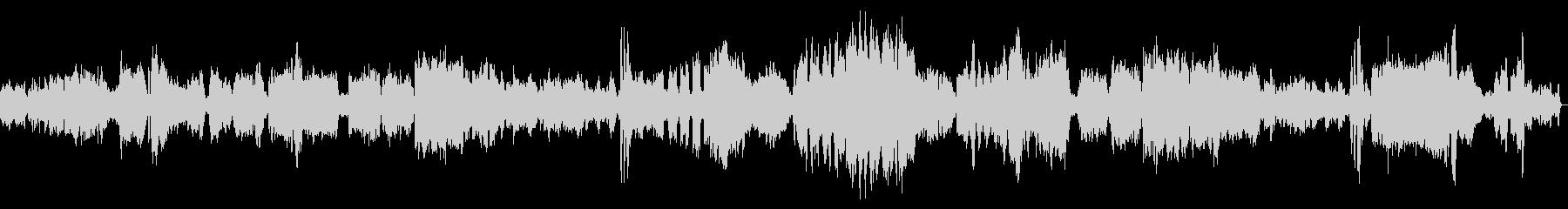 グラズノフ「ピアノソナタ変ロ短調」の未再生の波形
