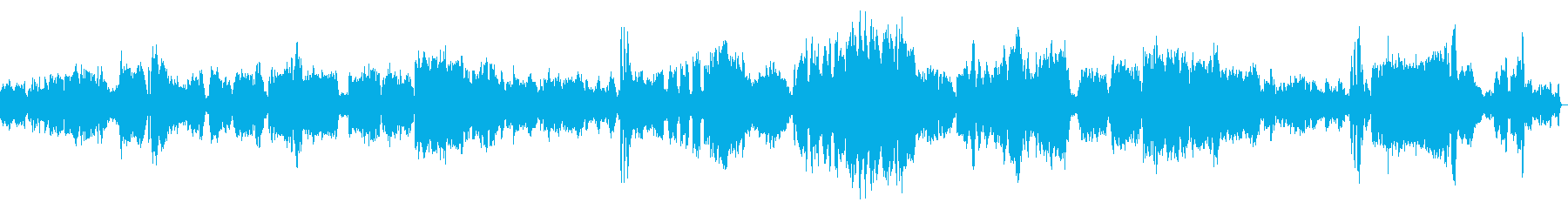 グラズノフ「ピアノソナタ変ロ短調」の再生済みの波形