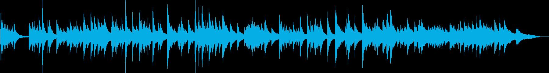 生演奏 切ないピアノ曲の再生済みの波形