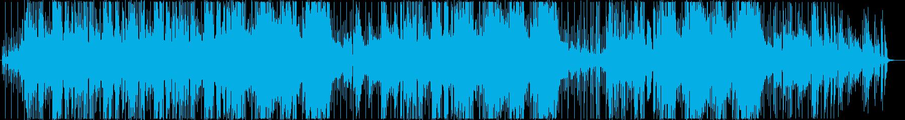 アコースティック系ポップ、チルの再生済みの波形