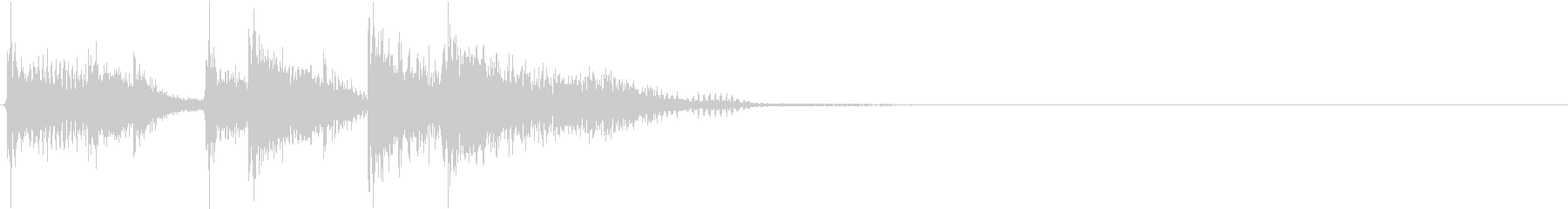 JUMPIN 'SEGUE 2、フ...の未再生の波形