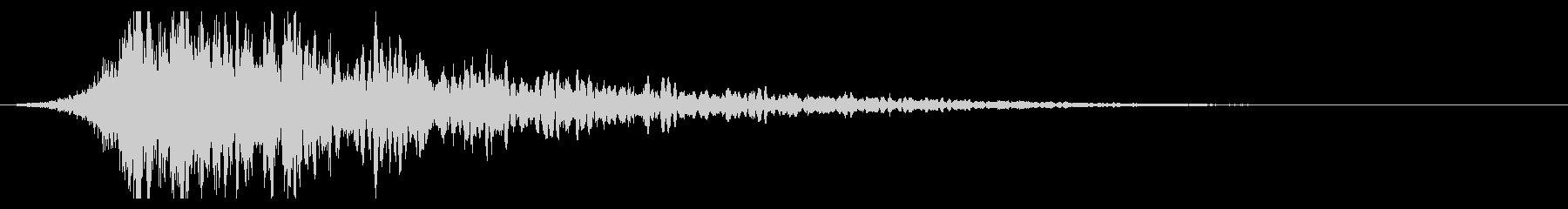 シュードーン-64-1(インパクト音)の未再生の波形