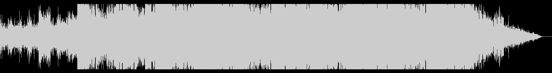 深淵を探求するようなシネマティックBGMの未再生の波形