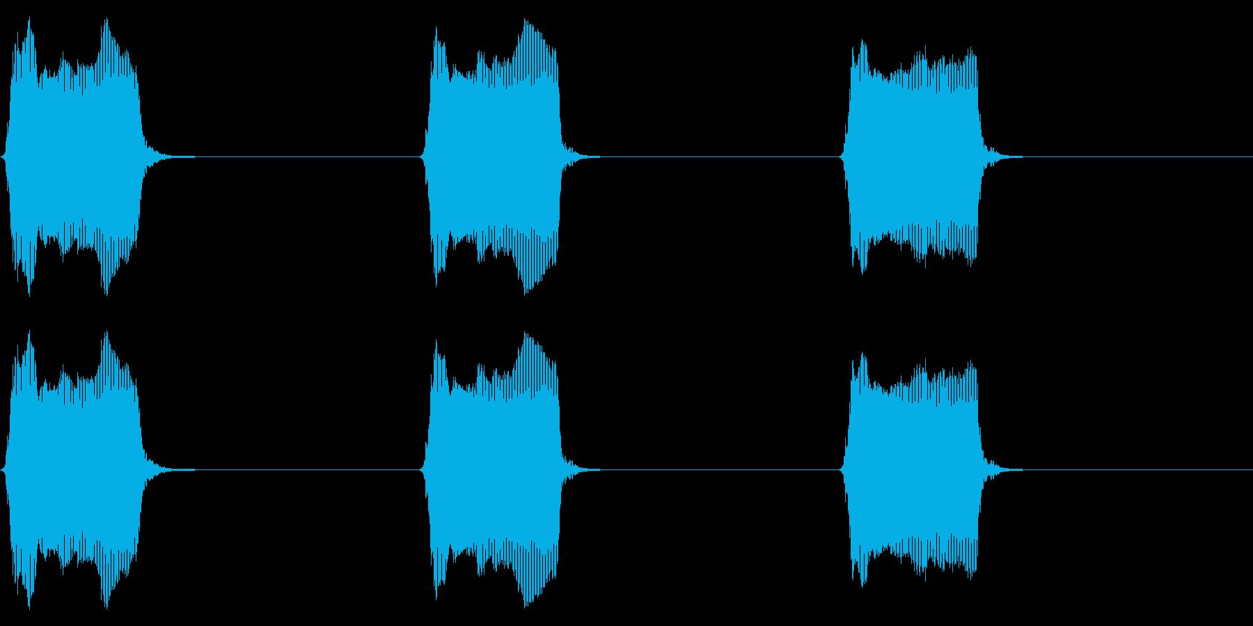 携帯電話 バイブレーション02-11(机の再生済みの波形