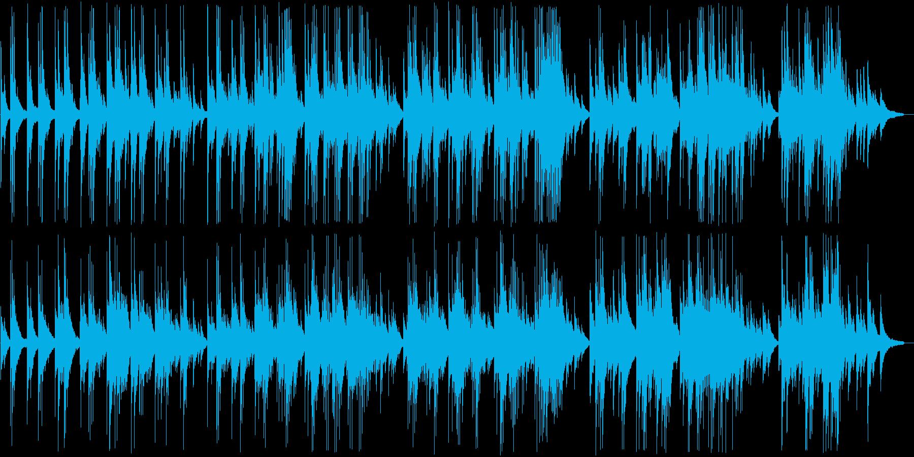 明るく切ないピアノバラードの再生済みの波形