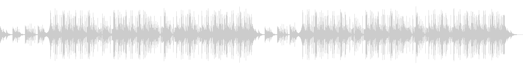 和風 琴 トラップ LoFiヒップホップの未再生の波形