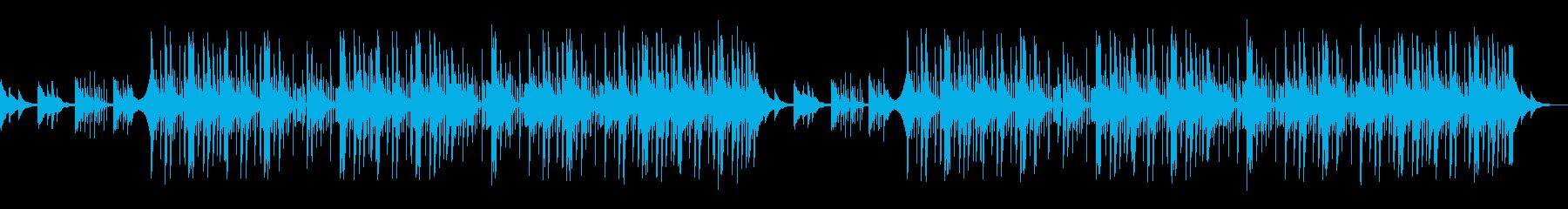 和風 琴 トラップ LoFiヒップホップの再生済みの波形