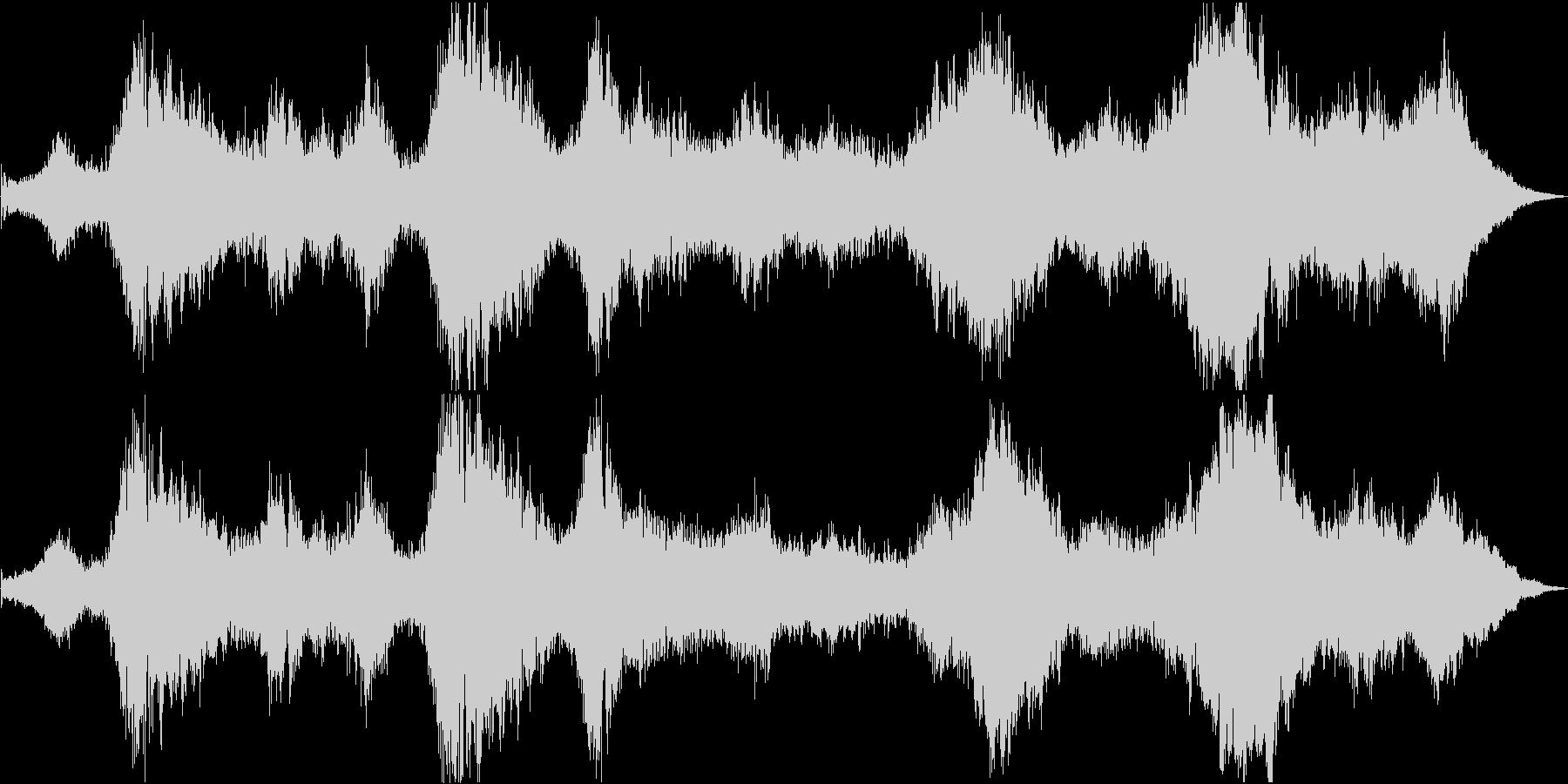 ドローン マレットとシンセ01の未再生の波形