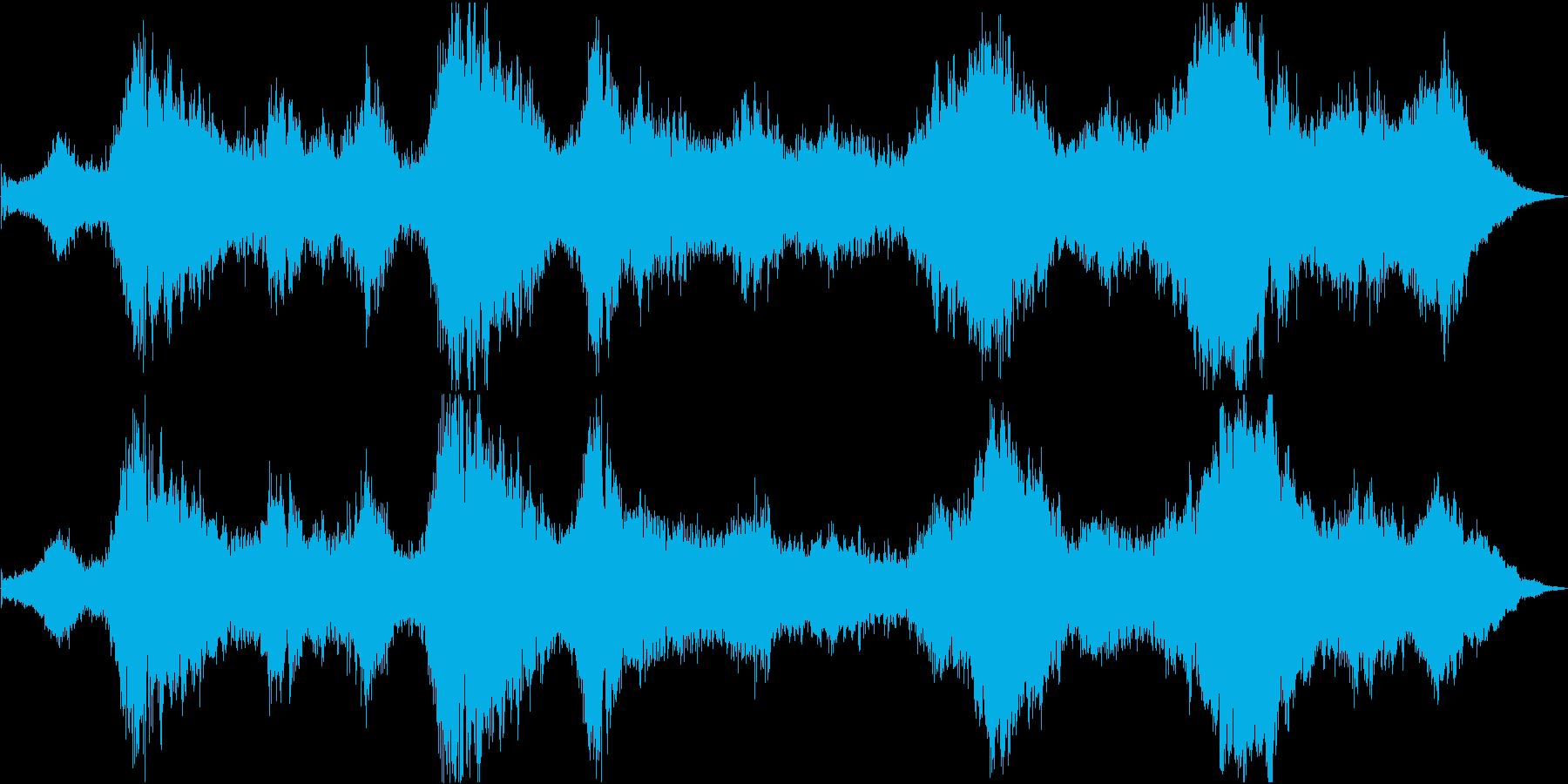 ドローン マレットとシンセ01の再生済みの波形