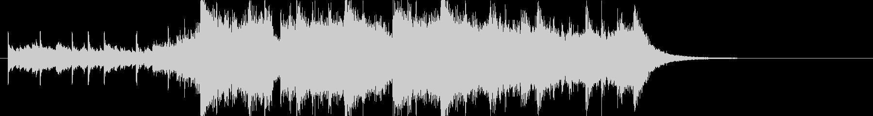 幻想的で壮大なオーケストラOPジングルaの未再生の波形