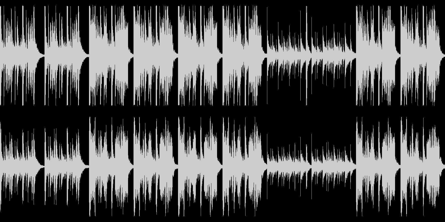大きいゆるキャラの行進曲 ループ仕様の未再生の波形