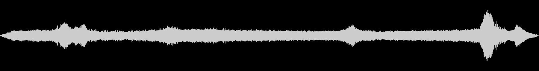 [生録音]交差点の環境音02(真夏)の未再生の波形