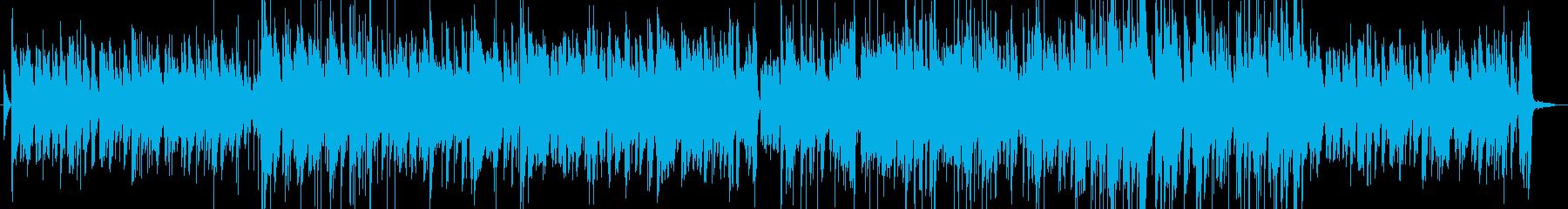 シンプルなジャズの再生済みの波形
