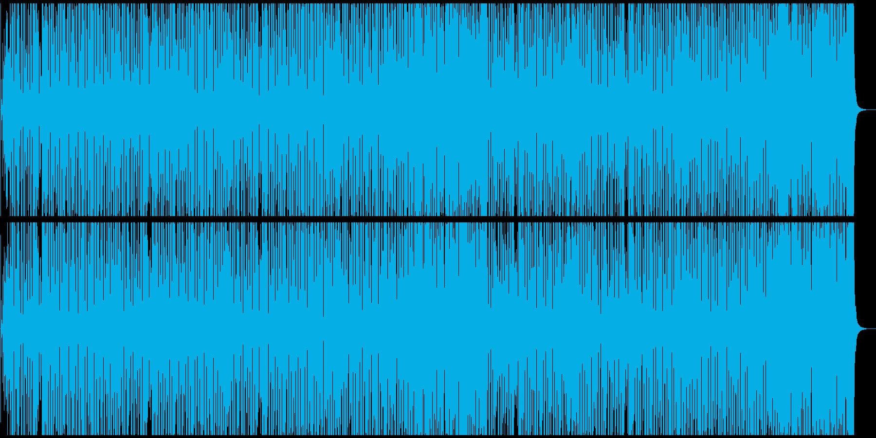 軽快で明るいジプシージャズの再生済みの波形