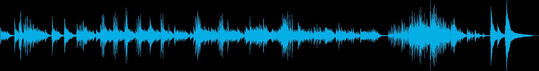 別れ(ピアノ・バラード・悲しい・切ない)の再生済みの波形