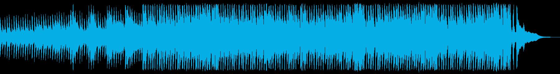 生アコギ!歩いて笑って楽しい爽快なBGMの再生済みの波形