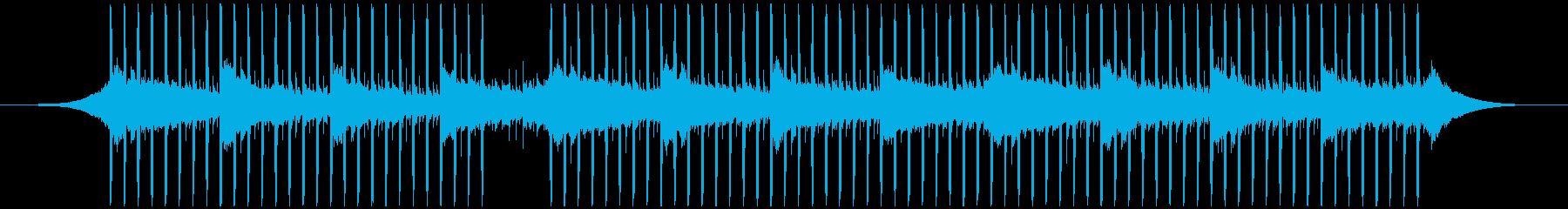 インタビュー(55秒)の再生済みの波形