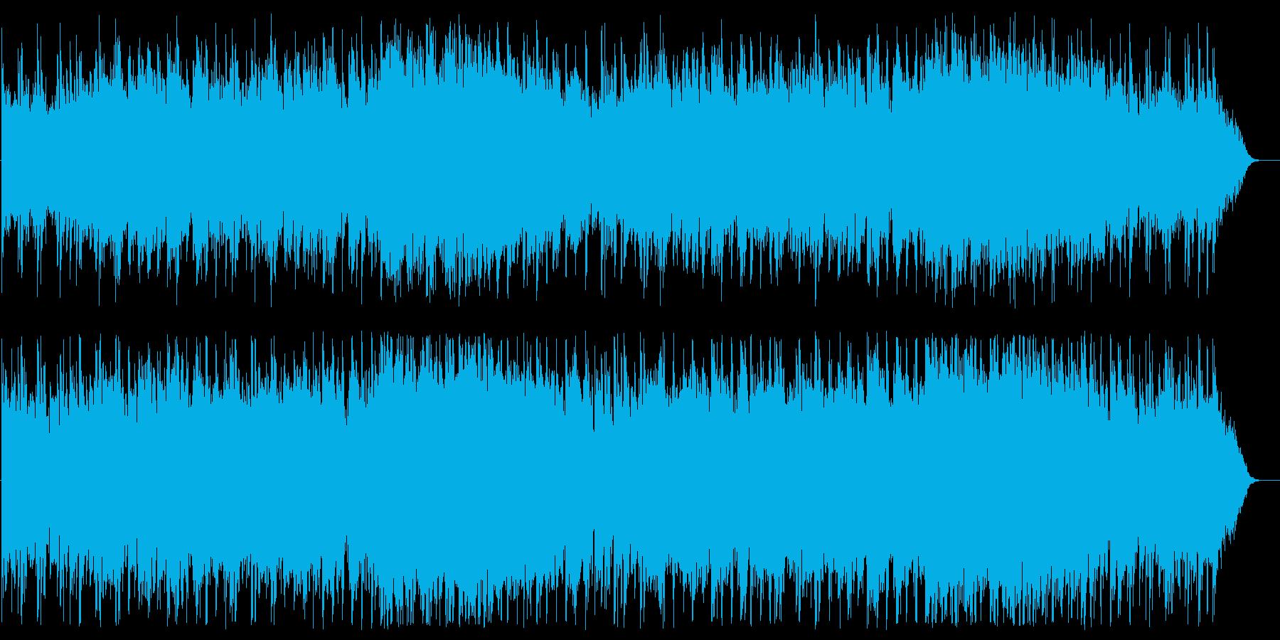 優雅であたたかい神秘的BGMの再生済みの波形