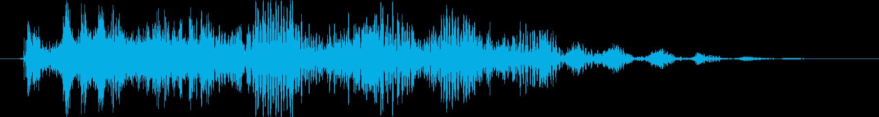 トランジション プロモーションパッド84の再生済みの波形