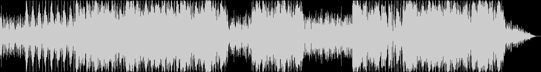 洋楽 ヒップホップ ダーク ギター 残響の未再生の波形