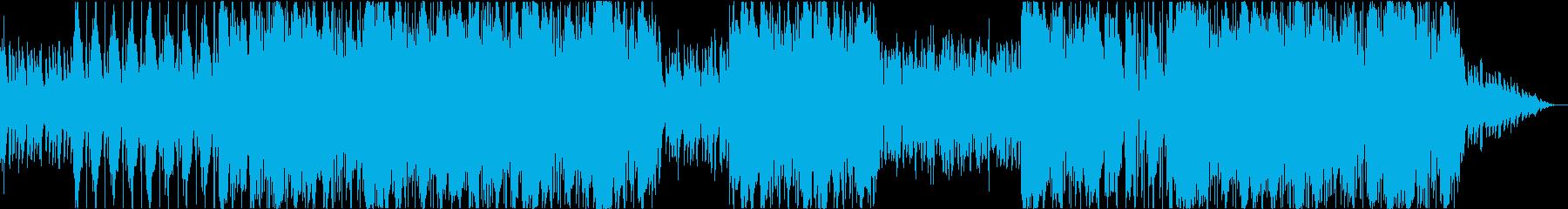 洋楽 ヒップホップ ダーク ギター 残響の再生済みの波形