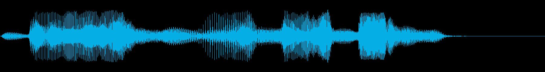 第七問の再生済みの波形